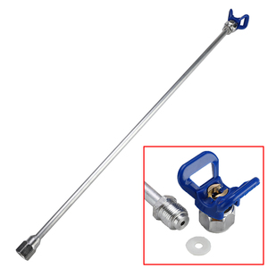 20/30/50/75cm Sprayer Extension Rod Airless Paint Spray Gun Tip Extension Pole Rod Aluminum Alloy Tool For Spraying Machine(China)