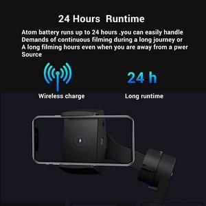 Image 3 - Snoppa Atom eine Taschenformat Faltbare 3 achse Smartphone Handheld Gimbal Stabilisator w/Focus Pull & Zoom für iPhone 11 Pro XS MAX