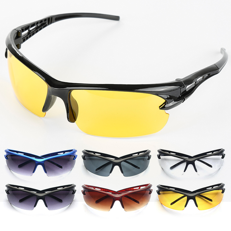 Outdoors Sports Cycling Bicycle Bike Riding SunGlasses Eyewear Goggles Anti-UV Glasses UV400 Lens Mens Women Unisex