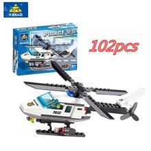 102 шт. самолет вертолет DIY Строительные блоки Набор кирпичей набор брендовые игрушки Совместимые Legoings подарки для детей