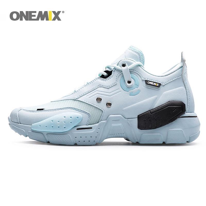 Мужские и женские теннисные туфли ONEMIX, Нескользящие износостойкие дышащие кроссовки на воздушной подушке для прогулок и занятий спортом|Обувь для тенниса|   | АлиЭкспресс