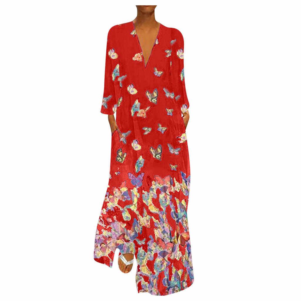 #35 ツイードドレス秋の女性ドレスプラスサイズカジュアルプリントドレススリーブルーズパーティーロングドレスエレガントな Vestido 花