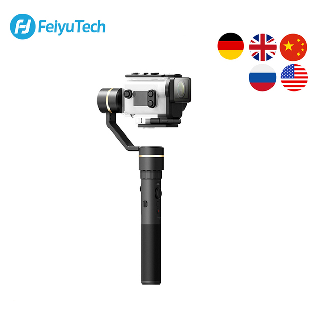 FeiyuTech G5GS Handheld Gimbal 3 Axis Camera Stabilizer for Sony AS50 AS50R  X3000 X3000R Splash Proof 130g 200g Payload