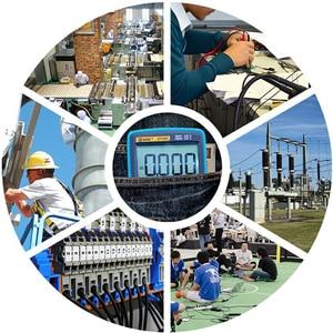 Image 2 - BSIDE dijital multimetre 8000 yüksek hassasiyetli True RMS otomatik aralığı ampermetre voltmetre akıllı kondansatör sıcaklık NCV Ohm Hz test cihazı