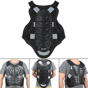 Czarny motocykle Armor ochrona Motocross odzież kurtka Protector moto cross zbroja na tył Protector kurtki motocyklowe biegów tanie i dobre opinie MA05521 NYLON