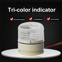 signal warning light security alarm three color 24v led indicator light alarm signal lamp strobe warning light red blue цена
