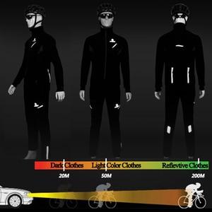 Image 4 - X TIGER 방수 Windproof 사이클링 자 켓 겨울 양 털 열 사이클링 코트 반사 자전거 의류 산악 자전거 유니폼