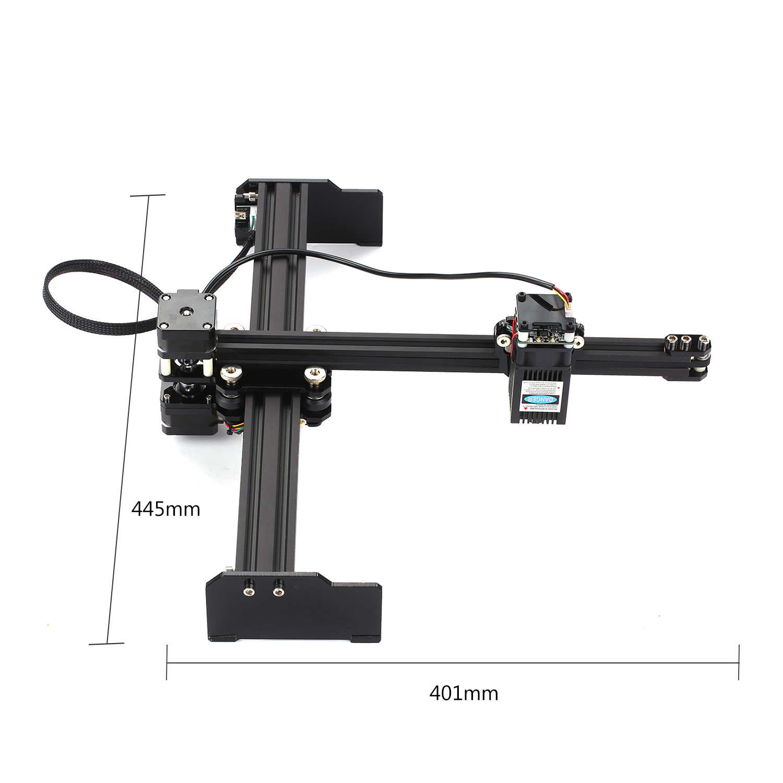 20W CNC Laser Graveur Laser Gravur Maschine Mini Desktop Laser Engraver Drucker Tragbare Haushalt DIY Laser Gravur Cutter