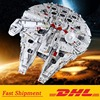 8445Pcs Millennium Force Awakens Falcon Destroyer Model Building Blocks Compatible with 75192 and 05132 1