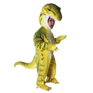 Image 3 - เด็กเครื่องแต่งกายTriceratopsเด็กLittle T Rexเครื่องแต่งกายคอสเพลย์ไดโนเสาร์Jumpsuitฮาโลวีนคอสเพลย์คริสต์มาสเครื่องแต่งกายสำหรับเด็ก