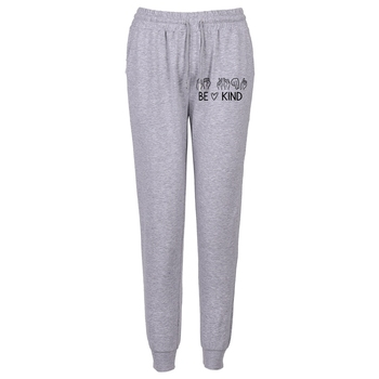 Hiphopowe spodnie dresowe spodnie ołówek z nadrukiem spodnie Streetwear Harem spodnie sportowe spodnie damskie spodnie spodnie odzież damska spodnie tanie i dobre opinie COTTON Poliester Pełnej długości CN (pochodzenie) Wiosna jesień Dropshipping Stałe HIP HOP Ołówek spodnie Mieszkanie