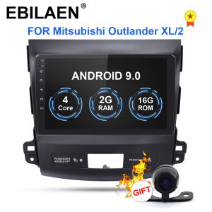 EBILAEN Car DVD Multimedia player For Mitsubishi Outlander XL 2005-2014 2din Android 9.0 Radio Tape Recorder Navigation GPS(China)