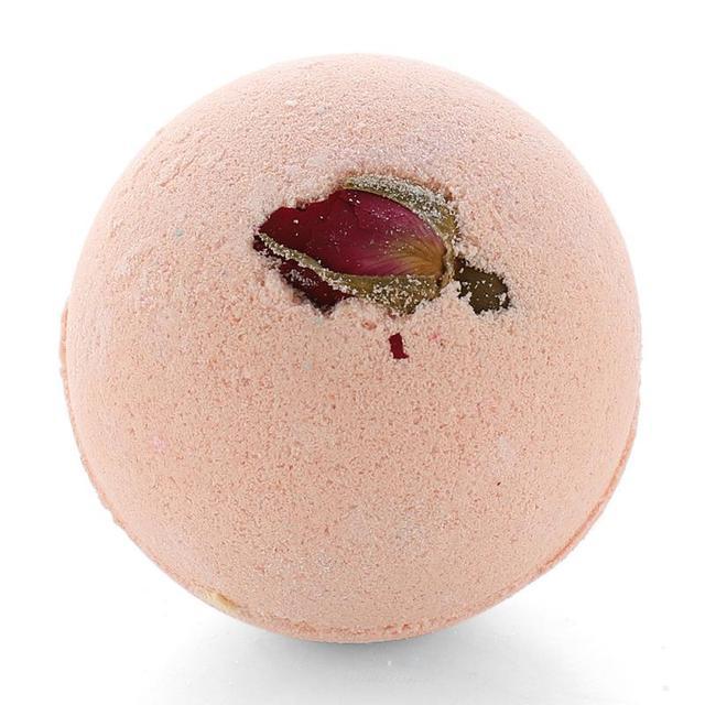 NEW 12 Pcs/set Petal Handmade Essential Oil Moisturize Bath Salt Bubble Bath Bomb Round Ball Explosion Salt Bath TSLM2 5