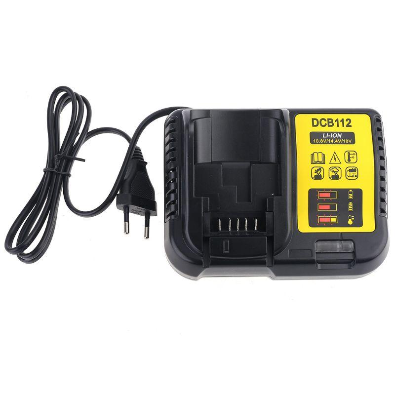 DCB112 Charger for Alternative Dewalt Genuine 12V 20V MAX Li-ion XR Battery