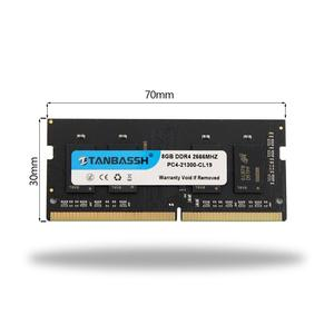 Image 4 - Tanbassh מחשב נייד זיכרון ddr4 4GB 8GB 16GB 2133MHZ 2400MHz 2666MHZ sodimm תמיכה memoria ddr4 מחברת אחריות לכל החיים
