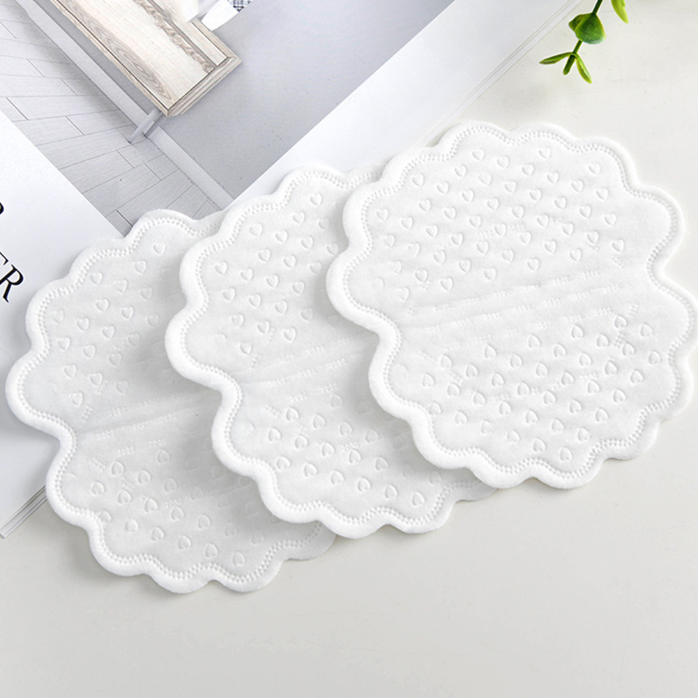 20 Pcs White Disposable Underarm Sweat Pads Armpit Lining Guard Pads Perspiration Absorbing Deodorant Armpit Mats