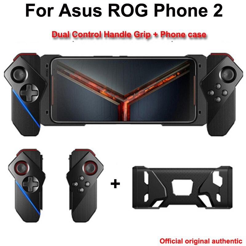 Poignée originale à double commande pour Asus ROG Phone 2 ZS660KL manette de manette avec support de étui de protection de téléphone