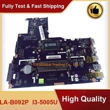 Für Lenovo B50-70 B50-80 Laptop Motherboard SR27G I3-5005U Mainboard ZIWB2/ZIWB3/ZIWE1 LA-B092P Arbeits Perfekt Schnelle Versand