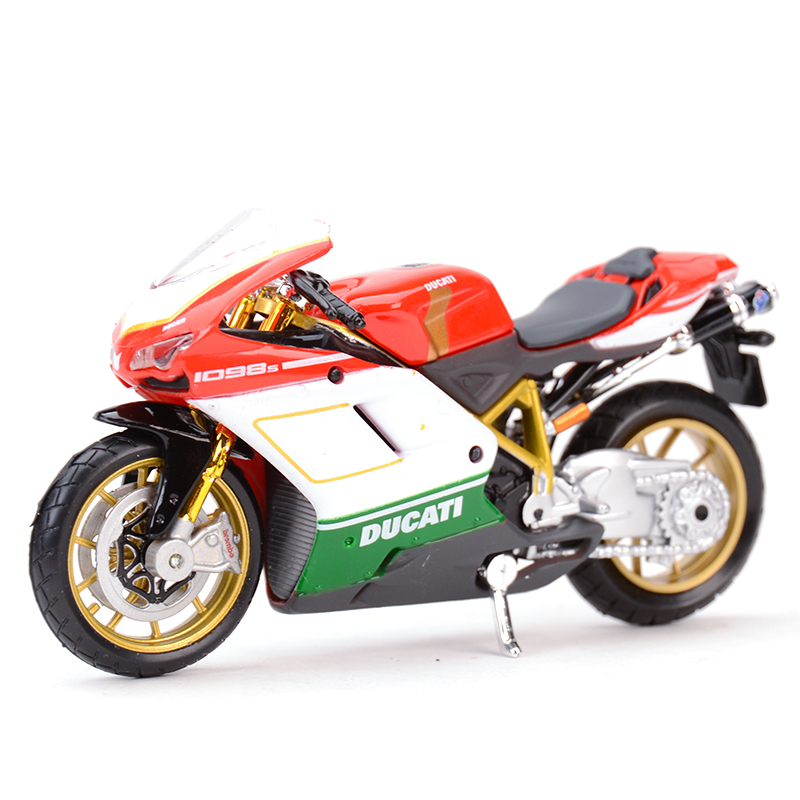 Maisto 1:18 1098S Diecast Alloy Motorcycle Model Toy