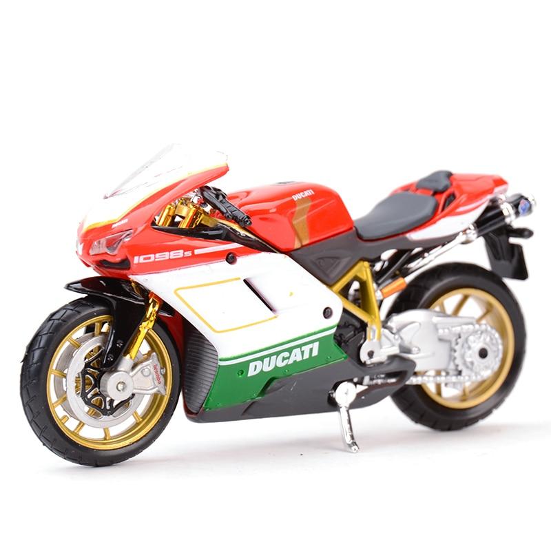 Maisto 1:18 1098S Diecast Alloy Motorcycle Model Toy