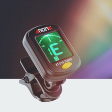 Guitar Tuner Picks Clip-On-Tuner Bass Ukulele Rotatable for Chromatic Acoustic Lcd-Display