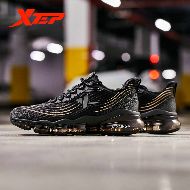 Xtep AIR MEGA Men Air Running Shoe Breathable Running Shoes For Men Athletic Shoe Comfort Light Outdoor Sneakers 881319119072