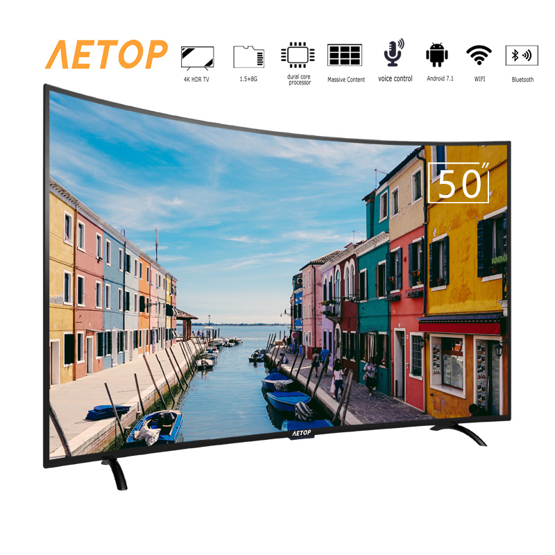 free shipping-50 inch cheap android tv hd led television smart tv 4k...