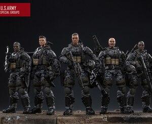 Image 1 - شخصيات الحركة الجديدة من JOYTOY موديل 1/18 لنموذج فيلق الجيش الأمريكي هدية عيد الميلاد/الإجازات شحن مجاني