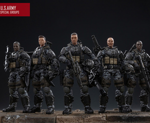 Image 1 - NEW JOYTOY 1/18 action figures US Army Corps model doll Birthday/Holiday Gift Free shipping