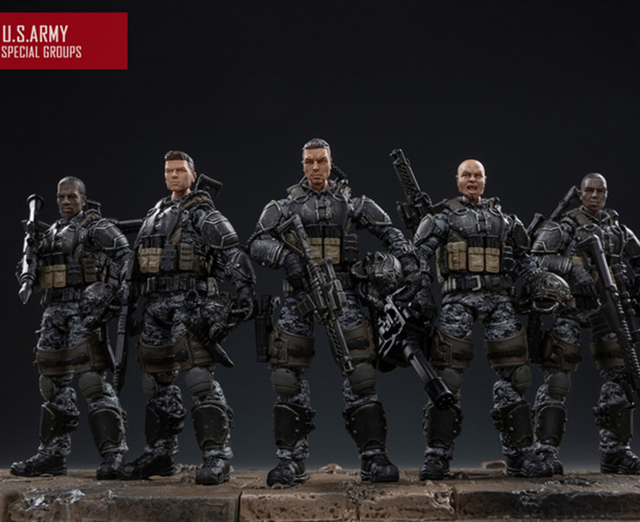 NEW JOYTOY 1/18 action figures US Army Corps model doll Birthday/Holiday Gift Free shipping