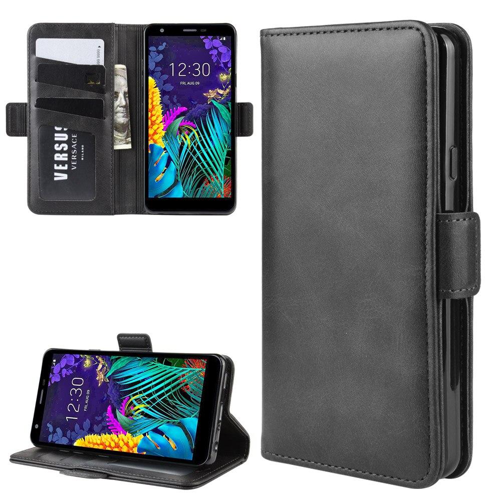 Case For LG K30 2019 Leather Wallet Flip Cover Vintage Magnet Phone Case For LG K30 2019 Coque