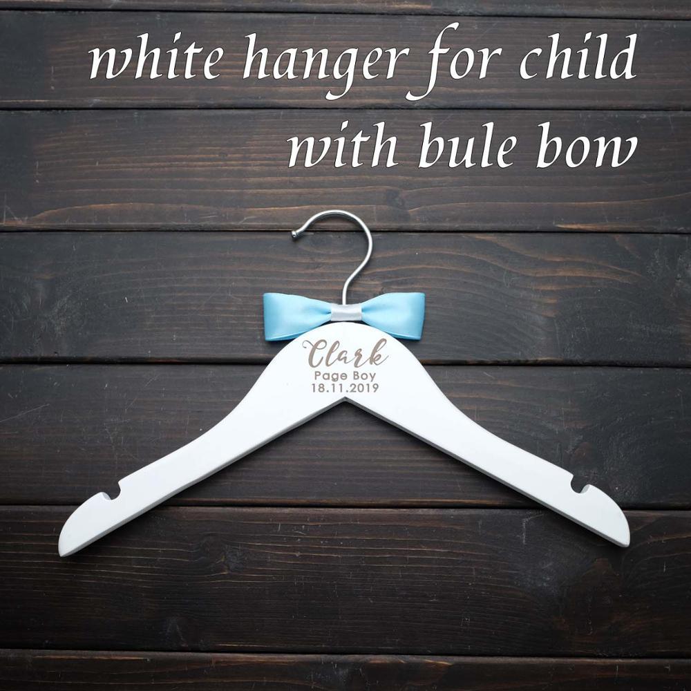 Персонализированные Свадебные вешалки, выгравированные Свадебные вешалки для одежды, вешалки для платья, свадебные вечерние подарки, вешалки для подружки невесты с лазерной резкой - Цвет: Child hanger