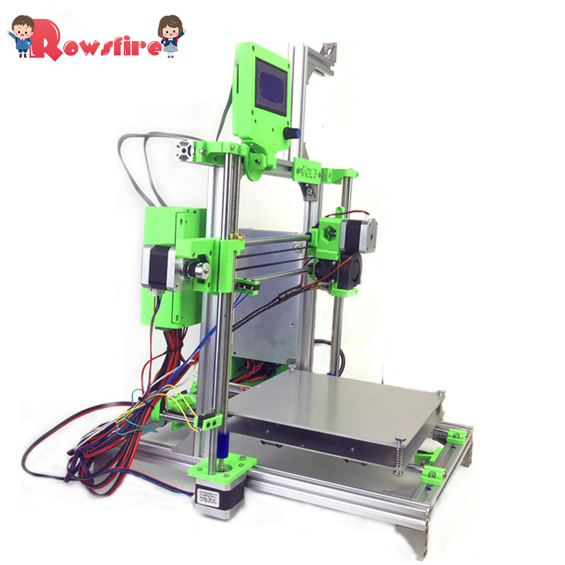 DIY 3D Printer Upgraded Aluminum Frame Printing Kit