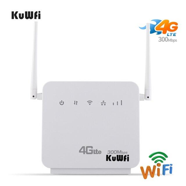 Débloqué 300Mbps Wifi routeurs 4G LTE CPE routeur Mobile avec Port LAN prise en charge de la carte SIM et Europe/asie/moyen-orient/afrique