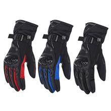 Motorcycle Warm Gloves Universal Cycling Waterproof Anti-slip Racing Gloves for Winter