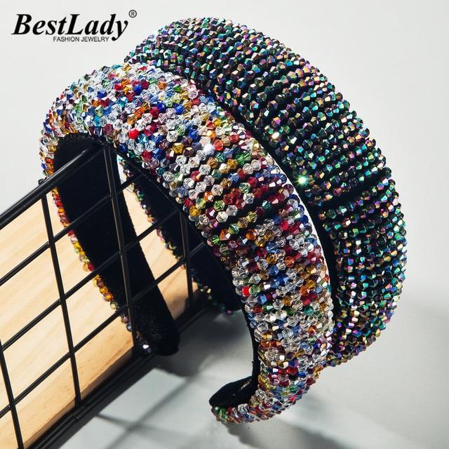 Meilleur dame mode multicolore brin bandeaux pour femmes bohème bijoux de mariage 2020 à la mode chaude cheveux accessoires en gros