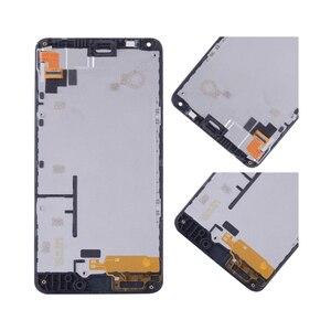 Image 4 - מקורי עבור NOKIA Microsoft Lumia 640 LCD מסך מגע Digitizer עצרת עבור Nokia Lumia 640 withFrame תצוגת RM 1075 RM 1077