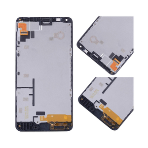 Image 4 - ORIGINAL For NOKIA Microsoft Lumia 640 LCD Touch Screen Digitizer Assembly For Nokia Lumia 640 Display withFrame RM 1075 RM 1077