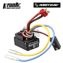 WP 1040 60A Waterdichte Geborsteld ESC Controller voor Hobbywing Quicrun Auto Motor 1/10 Tamiya Traxxas Redcat HSP HPI RC Auto(China)