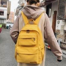 atinfor Waterproof Nylon Backpack Women Multi Pocket Travel Backpacks Female School Bag for Teenage Girls Book Mochilas