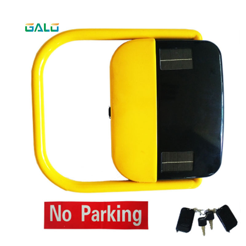 Vehicle Control Parking Locks/Automatic Car Parking Barrier Solar Powered Battery