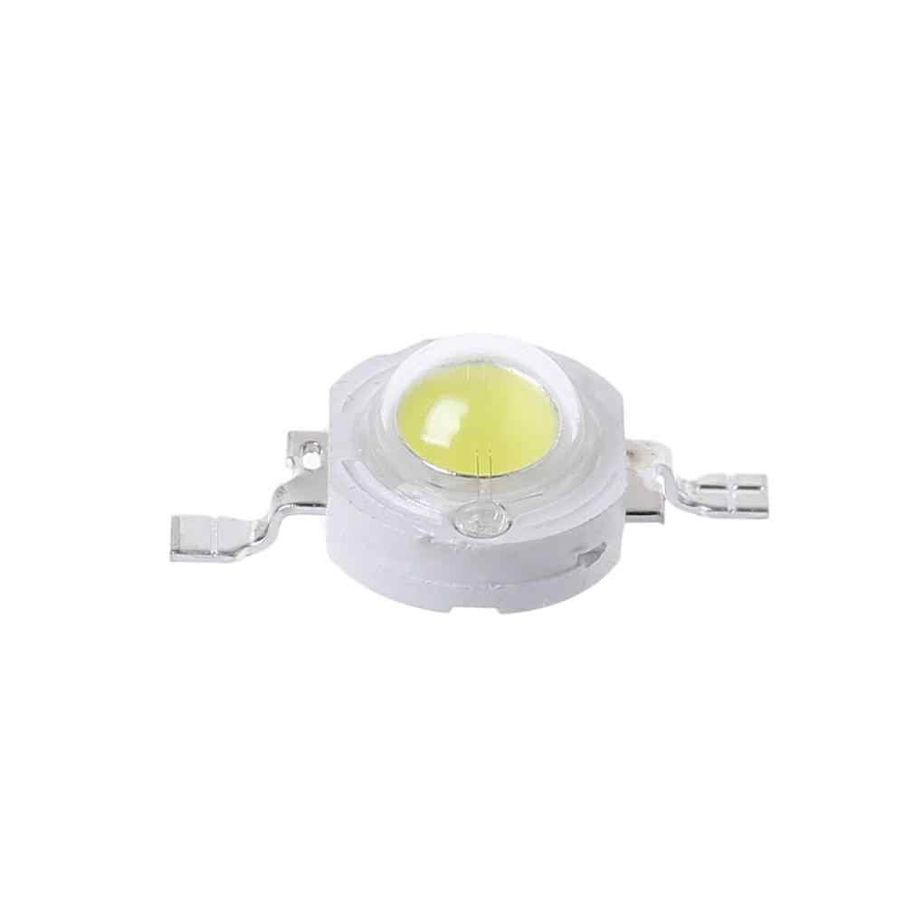 Alta potencia 1W LED SMD luz Chip ahorro de energía lámpara cuentas bombillas para DIY blanco