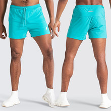Men's Summer Breathable Gym Casual Shorts Running Sports Beach Shorts Quick-Drying Bodybuilding Fitness Jogging Short Pants