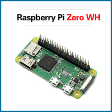 S ROBOT Raspberry Pi Zero W/WH with 40 PIN pre-soldered GPIO Headers WIFI and Bluetooth in Demo Broad 1GHz CPU RPI181