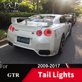 Tail Lamp For Car Nissan GT-R 2009-2017 GTR LED Tail Lights Fog Lights Daytime Running Lights DRL Tuning Cars Car Accessories