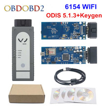 Più nuova Versione WIFI/Bluetooth 6154 ODIS V5.1.6 Pieno di Chip OKI 6145 Strumento Diagnostico Meglio di 5054A V4.33 Supporto UDS
