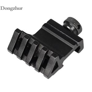 45 Degrees 4 Slot 20mm Rail Mount Quick Release Aluminum Alloy Picatinny Rail Base Adapter Hunting Rifle Scope Tools Accessories