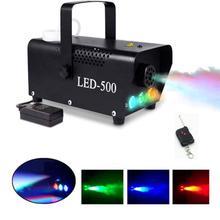 500W Fog Machine Met Draadloze Afstandsbediening Voor Dj Disco Party,Mist Kleurrijke Fogger Ejector, stage Effecten Led Rookmachine