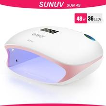 SUNUV SUN4S/4 Nagel Lampe 48W UV LED Nagel Trockner für Aushärtung Gele Polnisch Mit Smart Sensor Maniküre nail art Salon Ausrüstung Marke