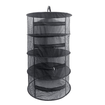 4 Layers Hanging Herb Drying Net With Zippers Herb Dryer Mesh Tray Drying Rack Flowers Buds Mesh Drying Net фото